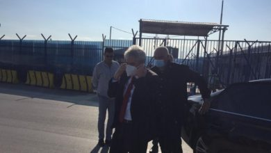 Photo of DUI's Ahmeti leaves Pristina after testifying at Kosovo's Special Court