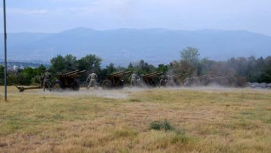 Photo of North Macedonia's Army to mark Independence Day with honorary gun salute
