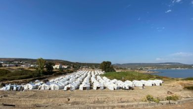 Photo of Rapid push to build new housing for Moria camp migrants