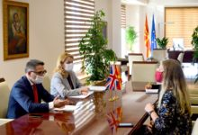 Photo of Minister Besimi praises UK support in country's public finances