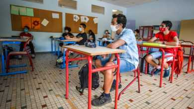 Photo of 22 French schools closed down by coronavirus cases