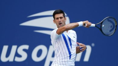 Photo of Djokovic disqualified from US Open after hitting line judge with ball