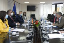 Photo of Spasovski, Bertolini discuss EU-supported police projects