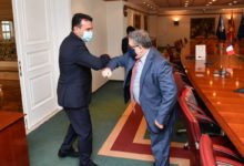 Photo of PM Zaev meets French Ambassador Thimonier