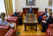 Photo of President Pendarovski holds farewell meeting with French Ambassador Thimonier
