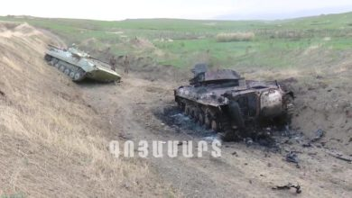 Photo of Flare-up continues between Armenia, Azerbaijan over disputed region