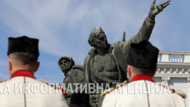 Photo of Wreath-laying ceremony at Monument to Liberators of Skopje