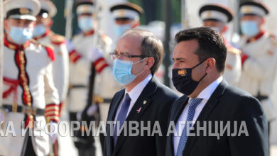 Photo of Kosovo PM Hoti visits Skopje