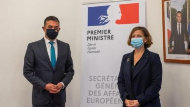 Photo of Deputy PM Dimitrov meets French Deputy Secretary-General for European Affairs Vinot