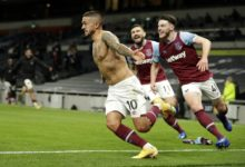 Photo of Lanzini spoils Bale's Spurs return as West Ham snatch 3-3 draw