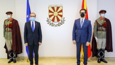 Photo of Pendarovski-Hoti: Pandemic not an obstacle for bilateral cooperation