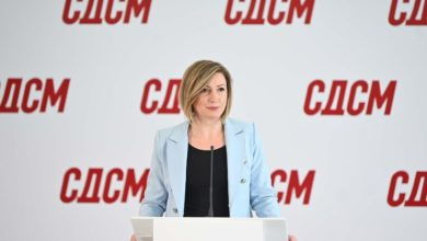 Photo of SDSM spokeswoman: No need for leaders' meeting