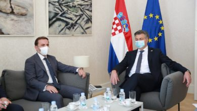 Photo of Plenković – Osmani: Croatia's support to North Macedonia's EU integration bid continues