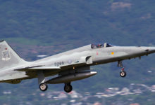 Photo of Taiwanese air force pilot dies after ejecting from jet trainer