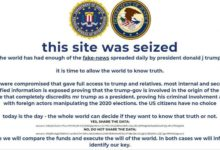 Photo of Trumpcampaign website hacked, cryptocurrency demanded