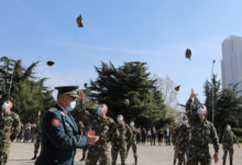 Photo of Swear-in ceremony of cadets and promotion of lieutenants of the Military Academy