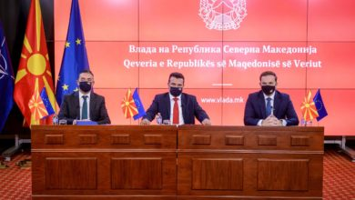 Photo of Zaev, Dimitrov, Osmani hold online meeting with EU's top diplomat Borrell