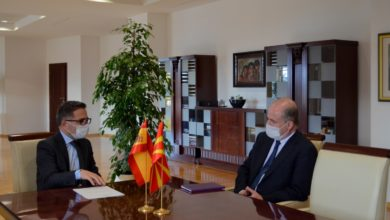 Photo of FinMin Besimi meets Spanish Ambassador Serra