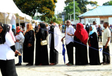 Photo of Tanzanians begin casting votes in tense election