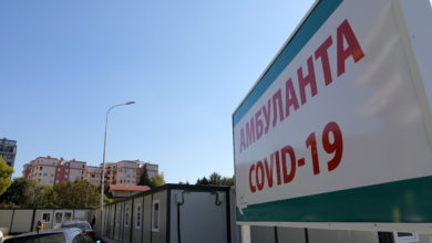 Photo of Over 1,700 patients in COVID-19 wards; 49 hospitalizations in Skopje units in past 24 hours