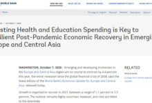 Photo of World Bank: Economies could shrink 4.4 pct due to COVID-19 pandemic