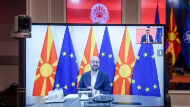 Photo of Intergovernmental conference by year-end, expect Zaev and Michel