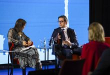Photo of President Pendarovski takes part in GLOBSEC 2020 in Bratislava