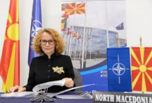 Photo of Shekerinska takes part in meeting of NATO defence ministers