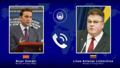 Photo of Osmani-Linkevičius: North Macedonia to start EU accession talks without any delay