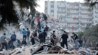 Photo of Death toll rises to 12 after major quake hits western Turkey