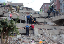 Photo of Rescue efforts under way after deadly quake in western Turkey