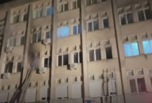 Photo of Ten Covid-19 patients die in blaze at Romanian intensive care unit