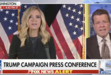 Photo of Fox News cuts off Trump campaign presser, saying no proof for claims