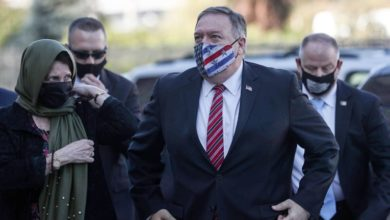 Photo of US Secretary of State Pompeo visits Jewish settlement in West Bank