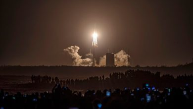 Photo of China sends rocket off on mission to bring back lunar sample