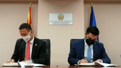 Photo of Economy Ministry signs cooperation memorandum with Economic Chamber of North-West Macedonia