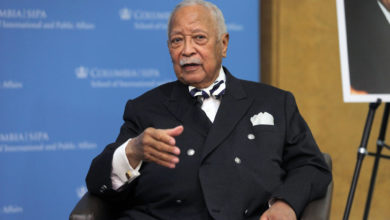 Photo of David Dinkins, New York City's first black mayor, dies at 93