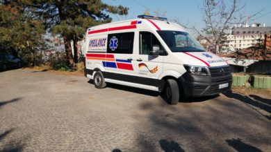 Photo of German Embassy donates new ambulance to Shtip hospital