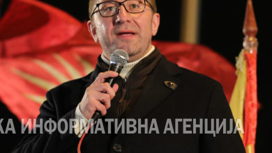 Photo of VMRO-DPMNE leader Mickoski demands PM Zaev's resignation, announces more protests