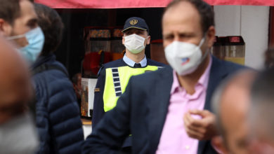 Photo of Nearly 700 people fined for violating face mask rule