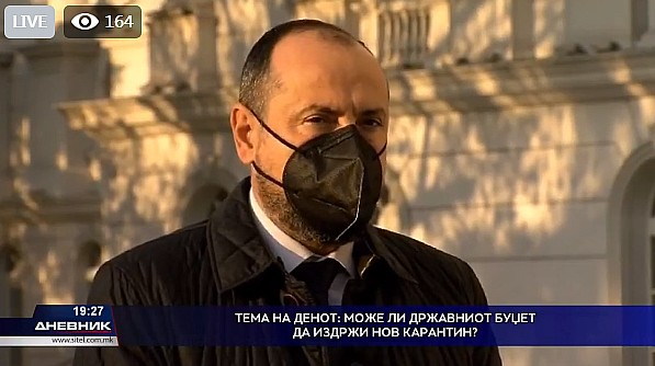 Photo of Bytyqi: Citizens to be calm, each borrowed denar used to cover their needs
