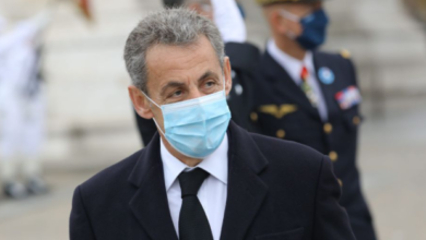 Photo of Former French president Sarkozy faces corruption charges in court