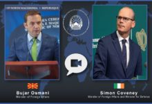 Photo of FM Osmani holds meeting with Irish counterpart Coveney