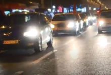 Photo of Opposition party VMRO-DPMNE stages car caravan protest