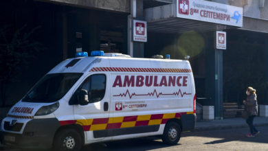 Photo of Skopje: 287 people hospitalized with Covid-19, including 17 new admissions