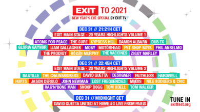 Photo of Exit festival to stream New Year's Eve special