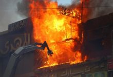 Photo of Seven killed in fire at hospital for coronavirus patients in Egypt