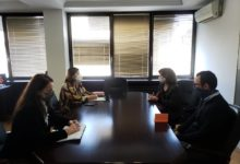 Photo of Labor Minister Shahpaska meets with representatives of National Convention on EU