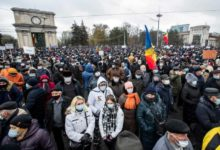 Photo of Protesters call for early parliamentary elections in Moldova