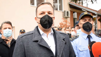 Photo of MoI Spasovski: Police controls to increase during holidays